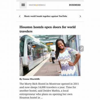 Wandlust Houston Article