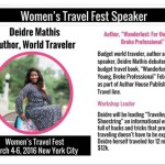Women's Travel Festival in NYC March 4th to March 6th
